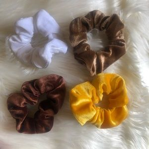 New Premium Velvet Scrunchies